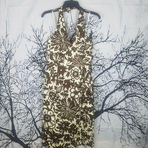 {NWT} Donna Ricco | Halter Tropical Dress Floral 6